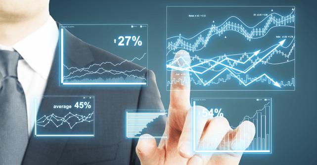 Finger pressing digital financial controls